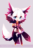 Chibi: Not-So-Magical Boy Shion by niaro