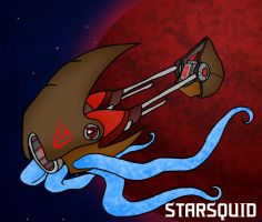 TG Ship: StarSquid by Wrenzephyr2