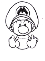 Baby Mario by jess13795