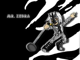 Mr Zebra for Shadowrulz3164 by Folkeye