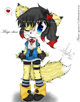 .:Mayu The Wolf-Lynx:. by Anini-Chu