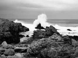 crashing waves by choney25