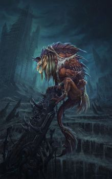apocalyptic-creature by no1hellangle
