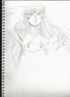 Sesshomaru DVD cover 2 W.I.P by angela808