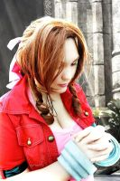Aeris Praying Edit by a friend by Thara-Wood