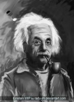 Einstein WIP by radu-jm