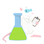 Science Rat by heidisprouse