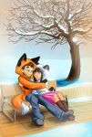 Snuggles! - Commission by StickFreeks