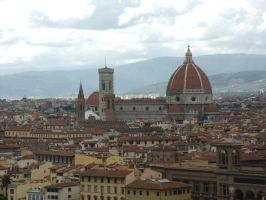Firenze cathedral view by BMFMhero1991