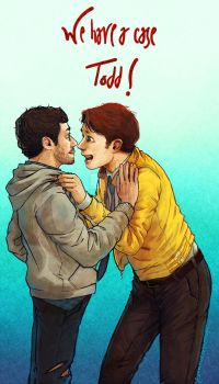 Dirk Gently: WE HAVE A CASE TODD! by nowwheresmynut