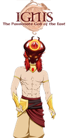 Ignis - Fire God by AquaWaters