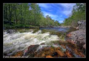 River Affric by Pistolpete2007