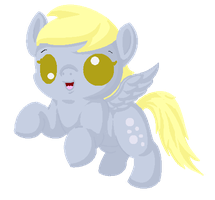 Chibi Derpy by Blood-Charm