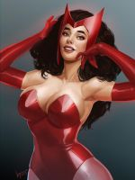 Scarlet Witch by knkrd