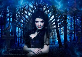 cemetry forest by annemaria48