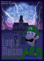 Luigi's Mansion by ZeFrenchM