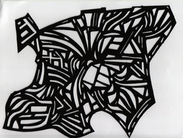 freestyle paper cut by faith303