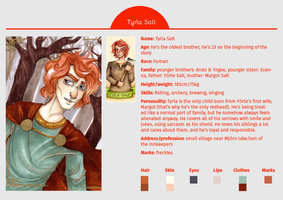 CHARACTER SHEET: Tyrla Salt by MadBlackie