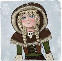 Astrid in Concept Art Outfit by Jenni41