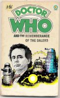 Fake Dr Who target book cover by Snake-Artist
