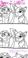 Archie just really wants a pet by Fur3ver