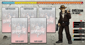 Zombicide Redesigned Character Sheet - Anderson by ZAQUARD