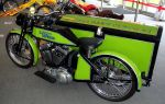 Custom Late-Model Sportster with SideCar by Caveman1a