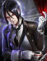 Black Butler by sakimichan