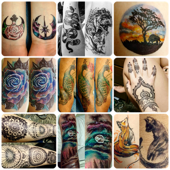 Tattoos by CrymsonFire