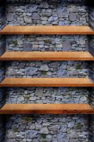 Rock And Wood Shelf by LiLmEgZ97