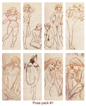 Pose packs sale by sionra