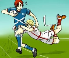 scotland england - rugby by Tubescream