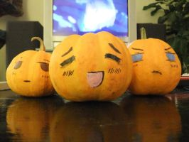 Axis Pumpkins Hetalia by Effielectric