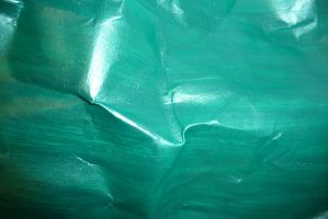 Crumpled Green Paper 9 by Niedec-STOCK