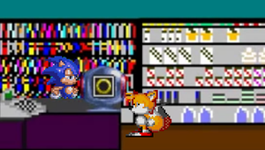 Sonic for Hire Videostore by sonicmechaomega999