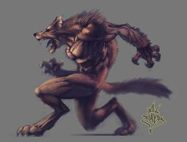 Wolf by ilison