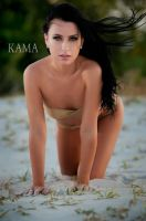 Angela and the Wind by Kama-Photography