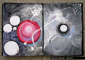 Art Journal 26 by San-T
