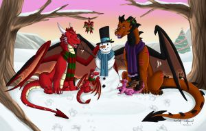 -C- Winter Fun by EmzieTowers