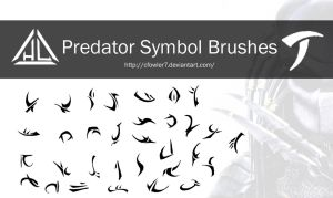Brushes - Predator Symbol Brushes by cfowler7