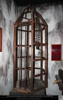Medieval Torture Device - The Hanging Cage by DamselStock