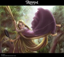 Rapunzel by patronustrip