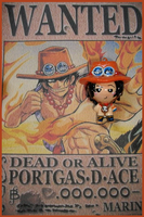 Chibi-Charms: Portgas D. Ace by MandyPandaa