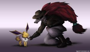 Anabelle and Zorro by Legend13