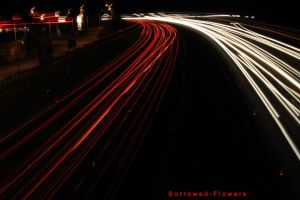Lights On The M25 by Sorrowed-Flowers