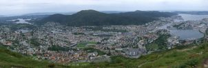 Bergen Panorama by ChimeraDragonfang