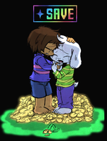 Undertale: Save ... by Neloku