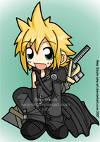 Cloud - Advent Children by amy-art