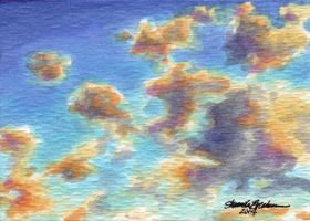 ACEO 2014 - Sky by M-Everham