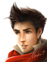 Mako: Speed Painting by ARRIAthelion